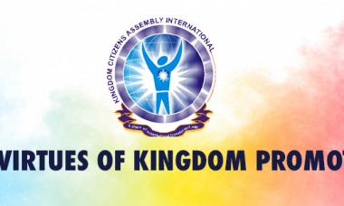 The Virtues of Kingdom Promotion